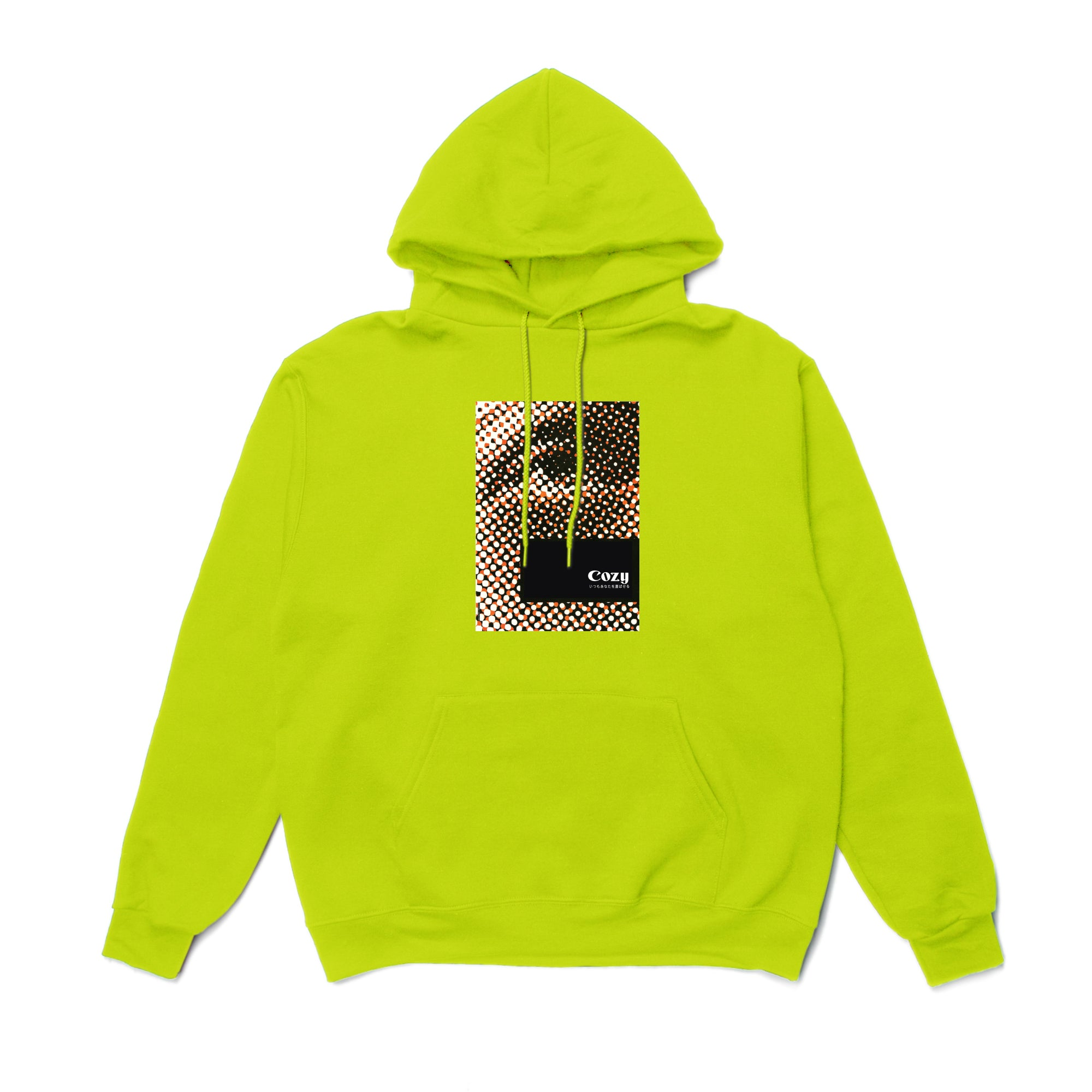 Eye See You Hoodie - Safety Green