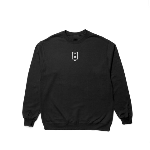 Histogram Crewneck - Black