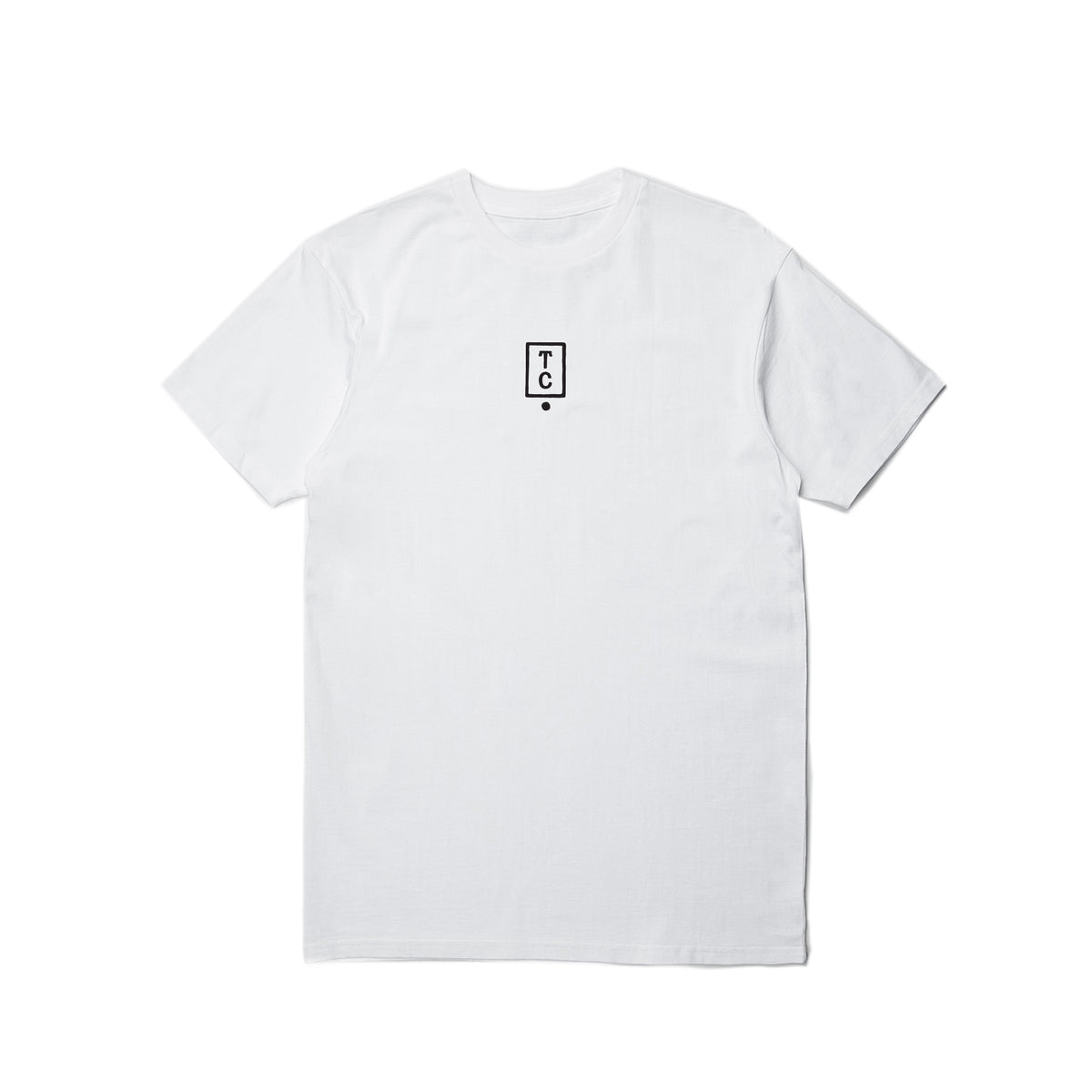 Histogram Tee - White