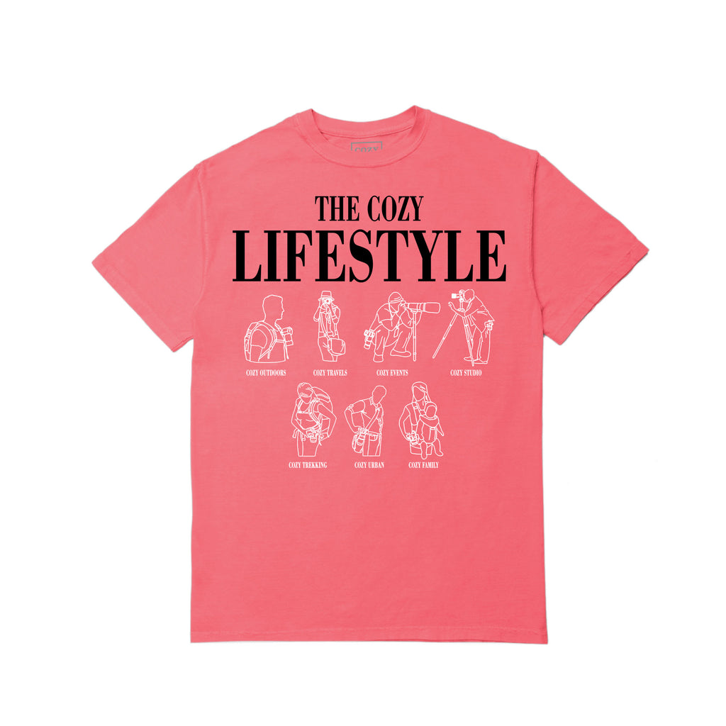 The Cozy Lifestyle SS - Coral