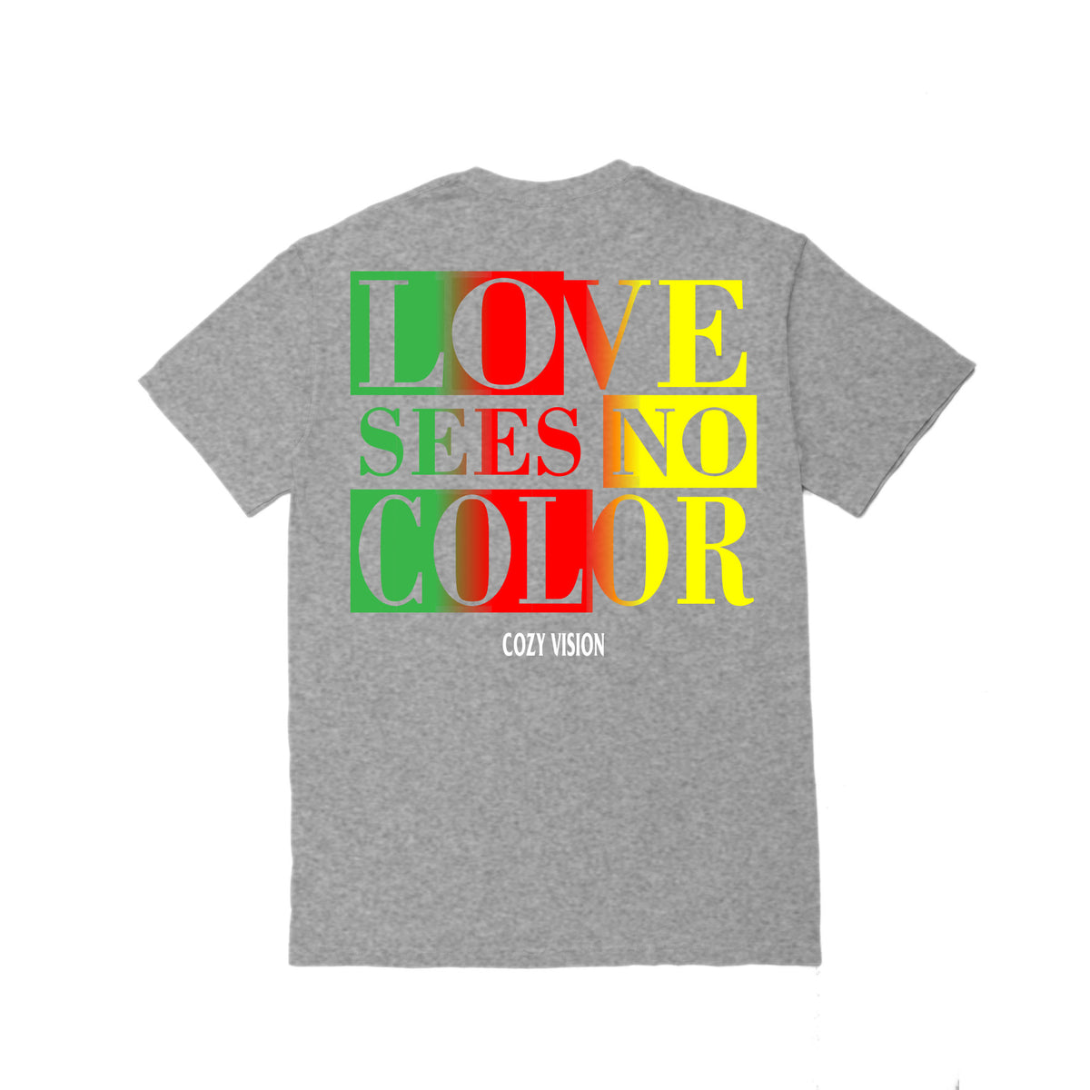 Love Sees No Color SS - Heather