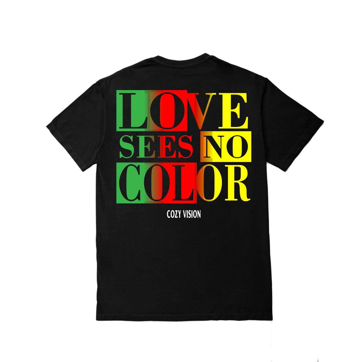 Love Sees No Color SS - Black