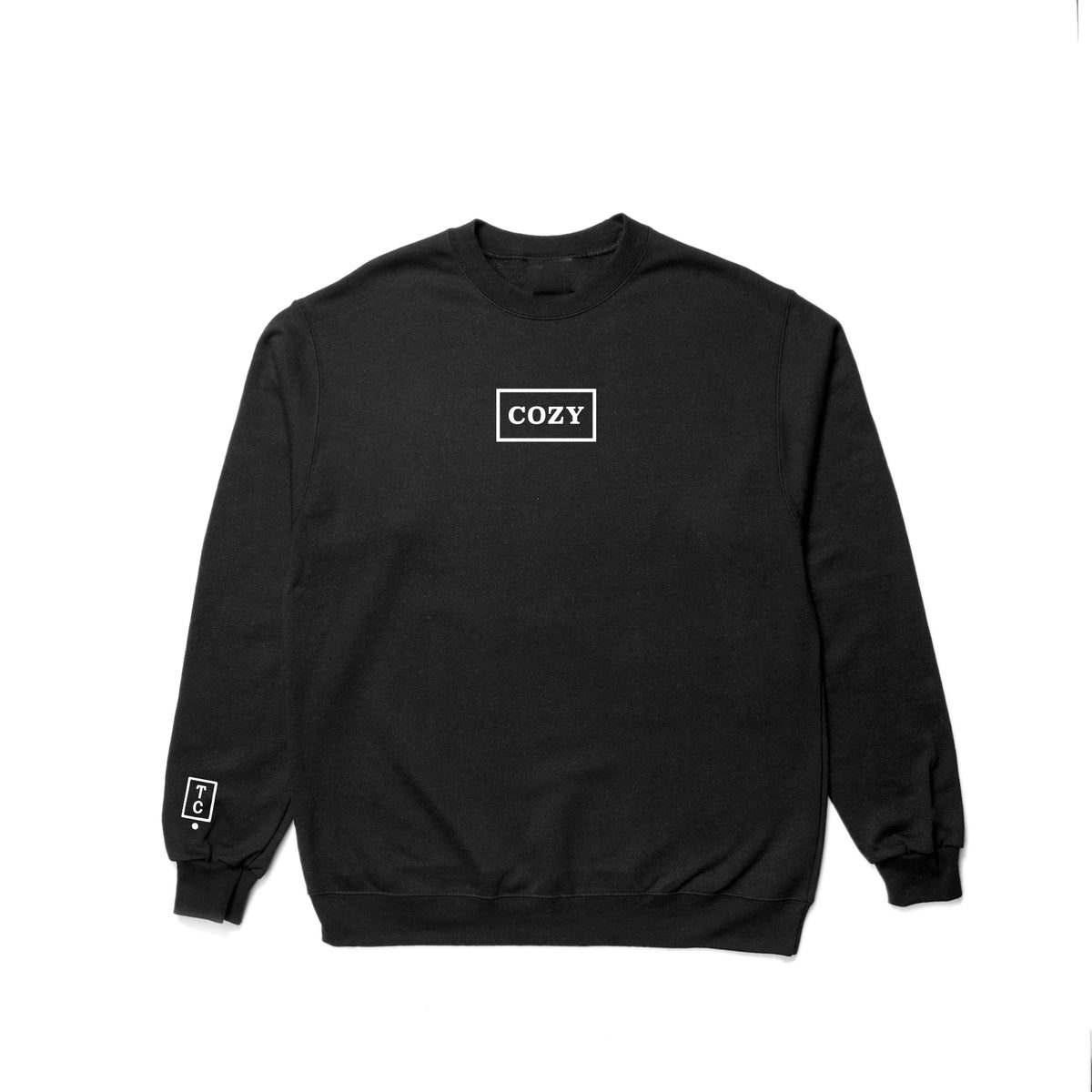 Multiblock Crewneck - Black