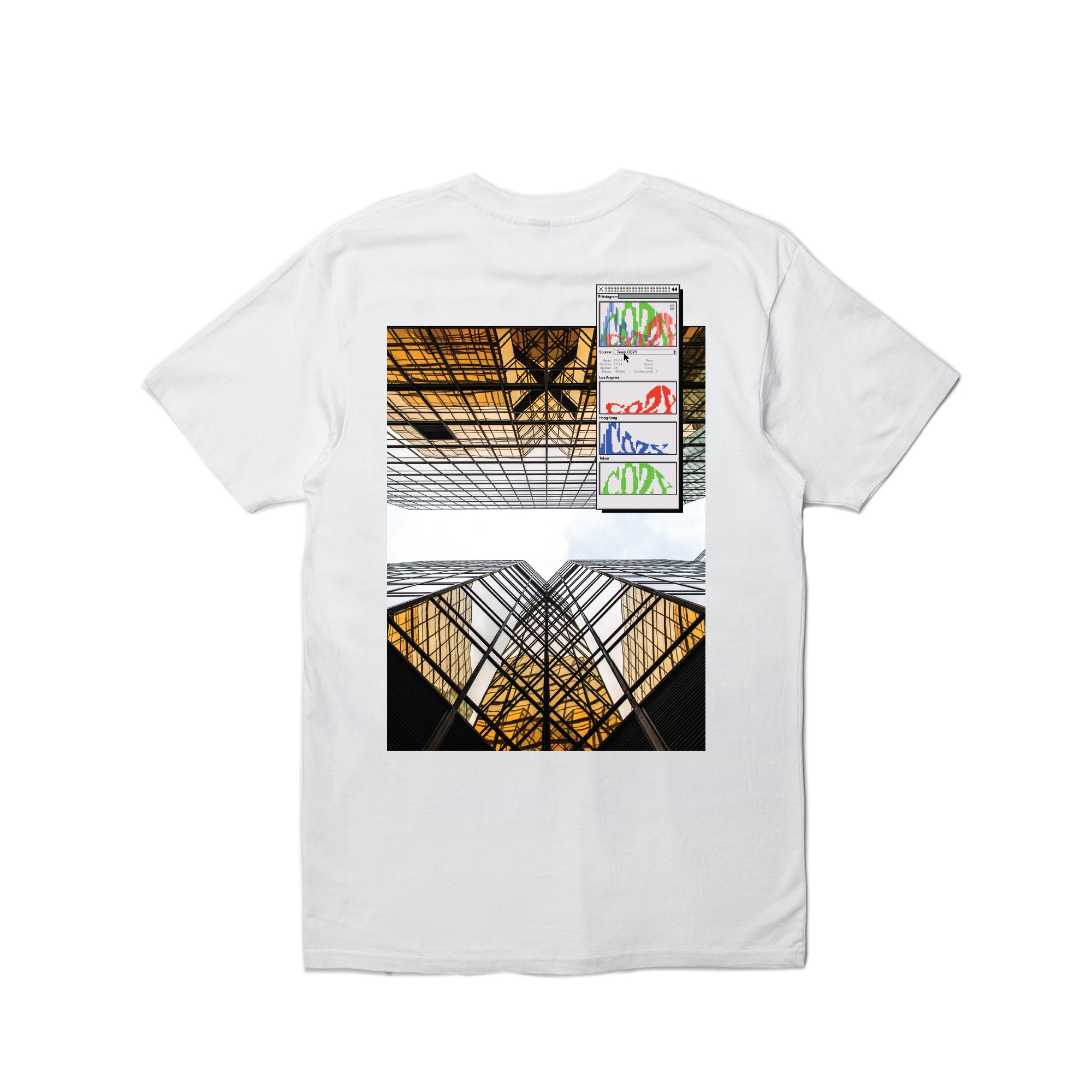 Photogram Tee - White