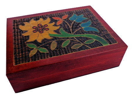 Mountain Flower Playing Card Box