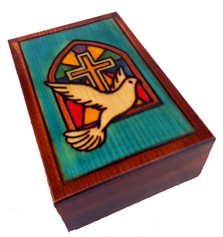 """Guiding Love"" Wooden Box of Poland"