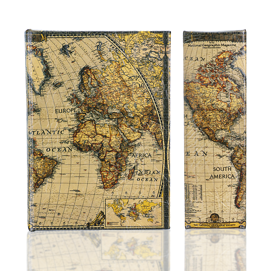 Map Book Safe Box