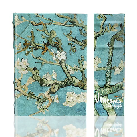 Van Gogh Almond Blossom Safe Book Box w/Lock