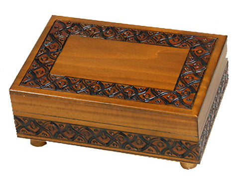 Simple Appreciations Wooden Secret Box (Legs Twist)