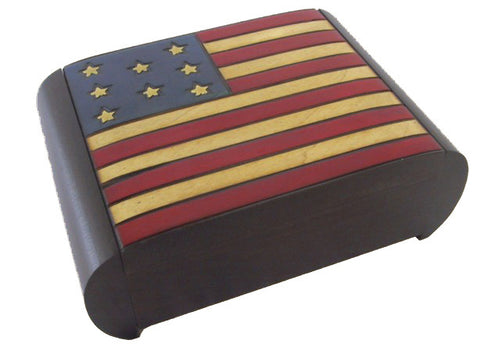 USA Patriotic Puzzle Box