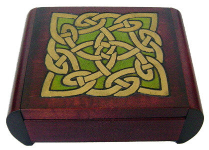 "Small ""Celtic Dream"" Polish Secret Box (Sides Slide)"