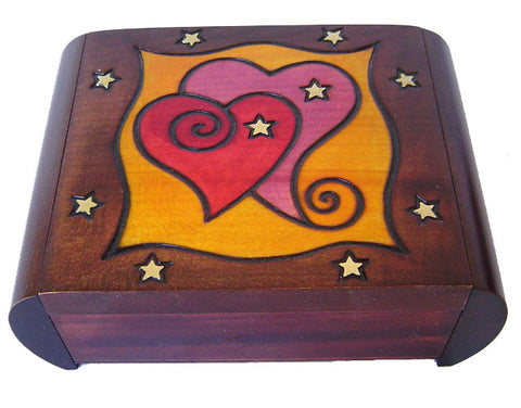 Heart Valentine Secret Box