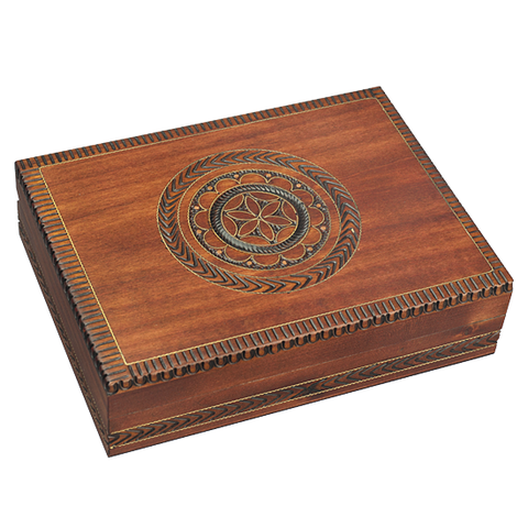 Stunning Floral Motif Playing Card Box