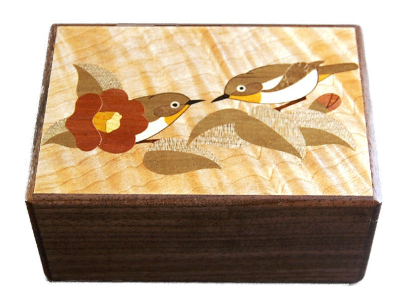 Two birds japanese puzzle box