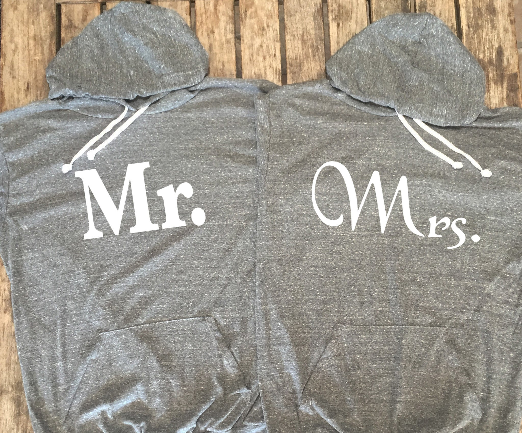 Mr. and Mrs. Bundle Hoodies