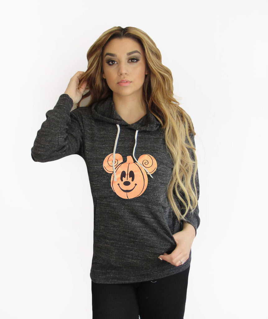 Mickey Halloween Light Weight Hoodie made by Think Elite.
