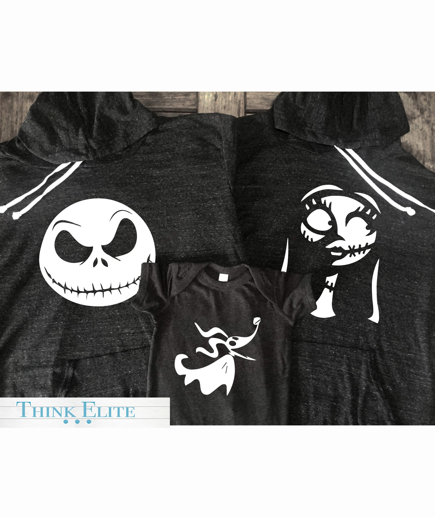 nightmare before christmas family bundle made by think elite - When Was The Nightmare Before Christmas Made