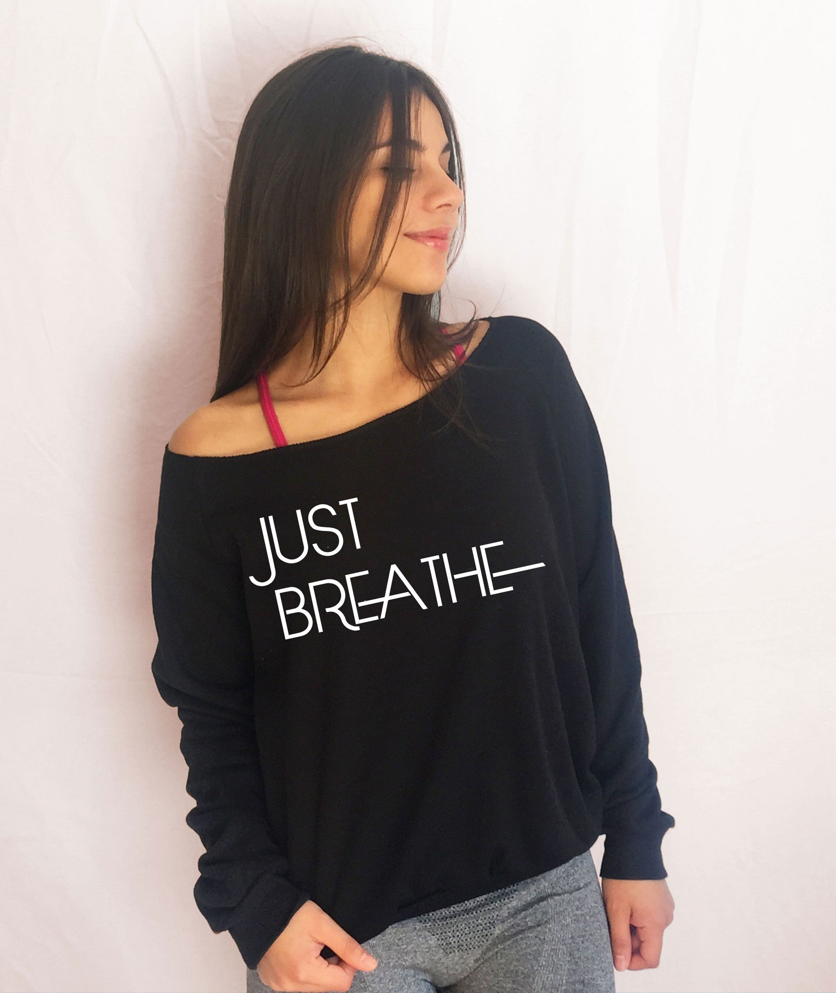 breathe fresh fleece sweater sport sporty girl fit fitness workout
