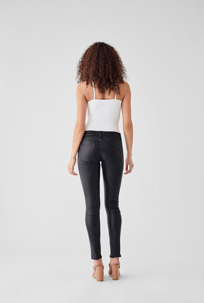 Emma Power Legging Leather & Coated Jeans (FINAL SALE)