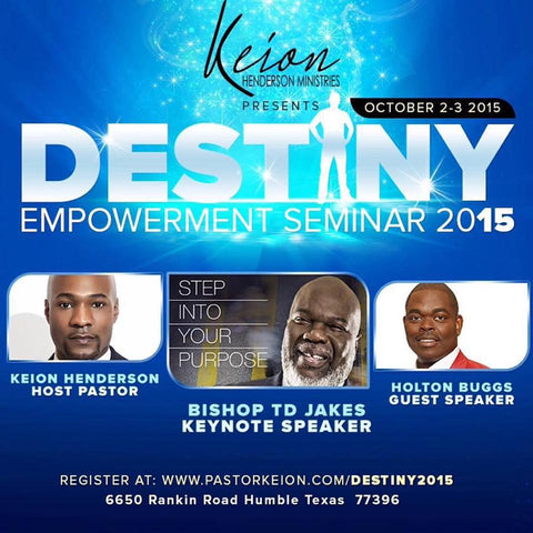 Destiny Seminar 2015 in DVD