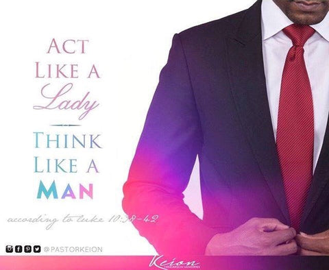 Act Like a Lady Think Like a Man (mp3)