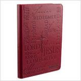 Names of Jesus Burgundy Flexcover Journal