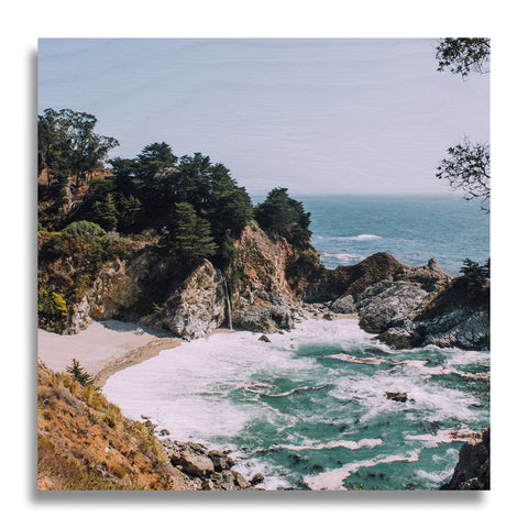 Big Sur Wood Print | Single Panel