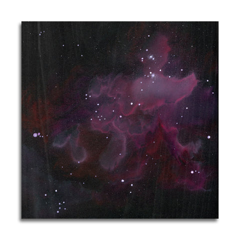 Nebula 1 Wood Print | Single Panel