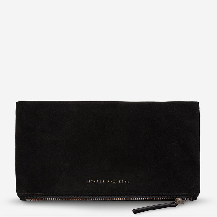 Feel The Night Clutch Black, Bag, Status Anxiety - Mika and Max