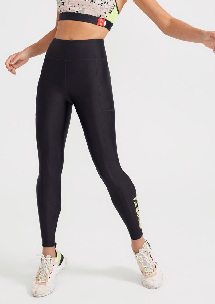 Combat Legging in Black, pe nation, Mika and Max