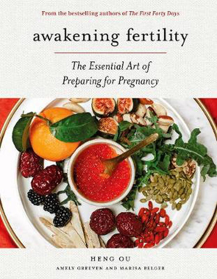 Awakening fertility, the essential art of preparing for pregnancy, book, Mika and max