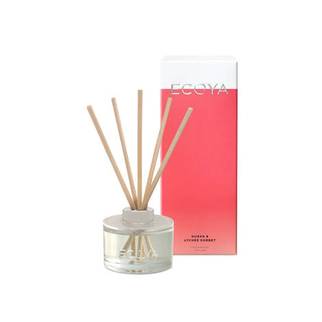 Guava & Lychee Sorbet Fragranced Diffuser, , Ecoya - Mika and Max