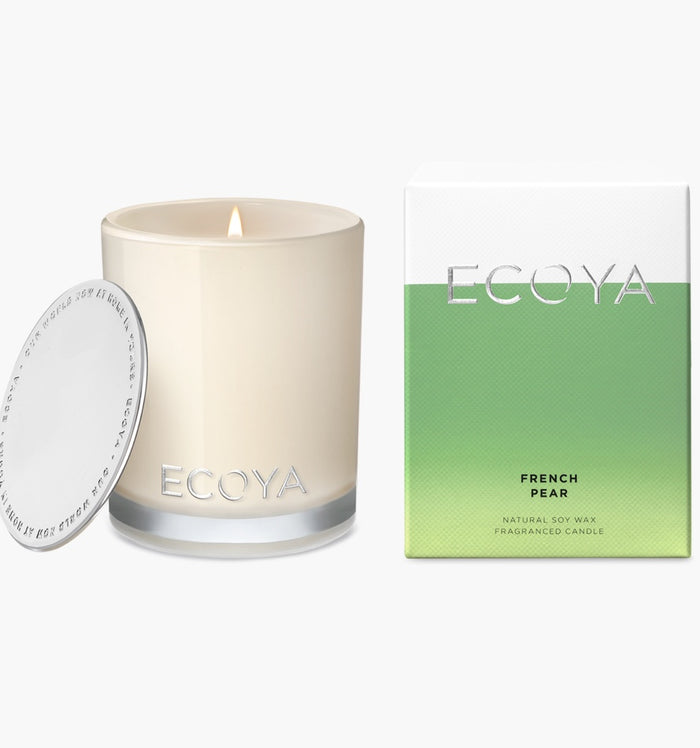Mini Madison Candle French Pear, Candle, Ecoya - Mika and Max