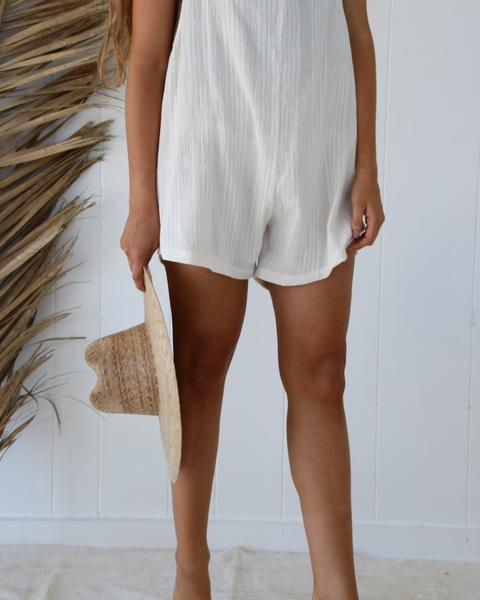 Oli Romper Cotton - Natural