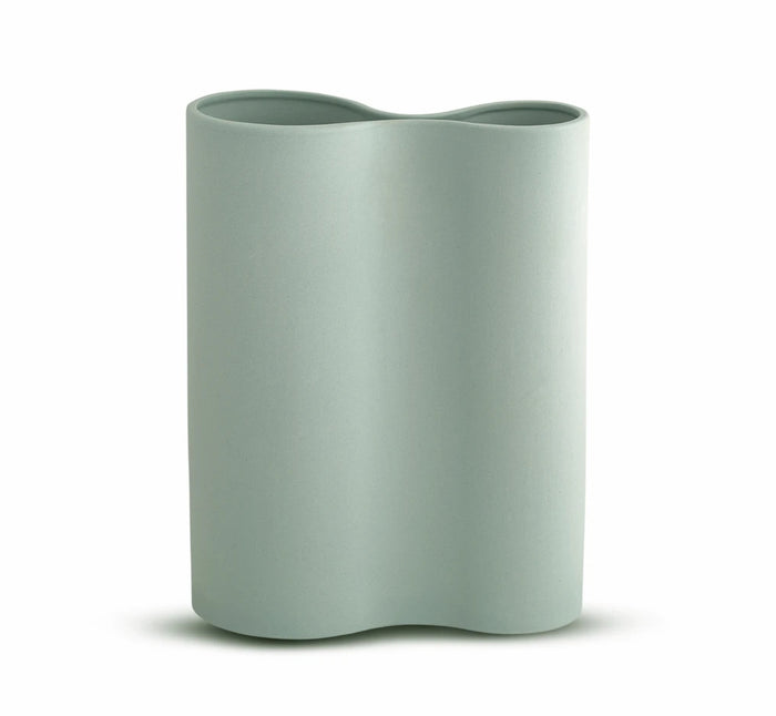 SMOOTH INFINITY VASE - BLUE (M)