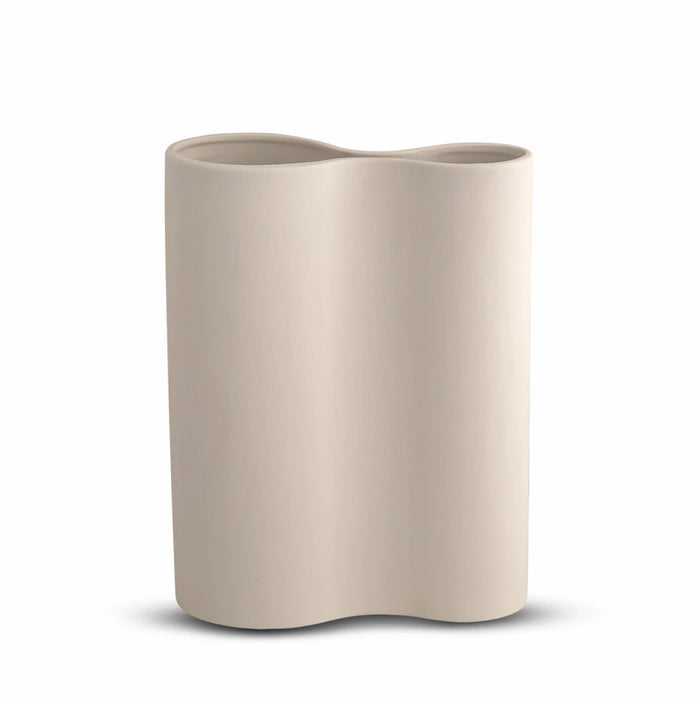 SMOOTH INFINITY VASE - NUDE (M)