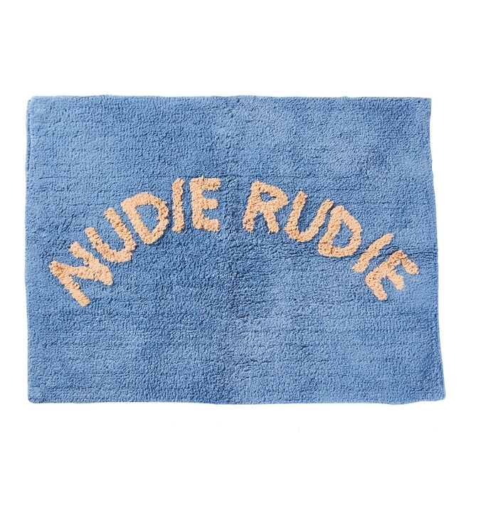 TULA NUDIE BATH MAT - CORNFLOWER, sage and Clare, Mika and max