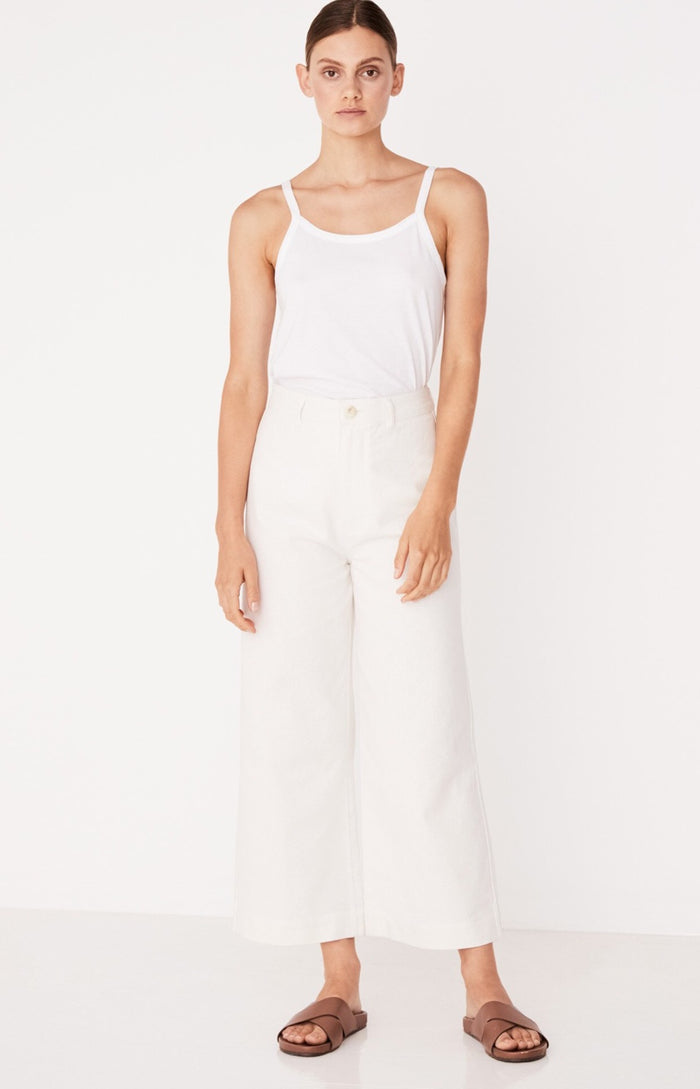 Vela pant birch, assembly label