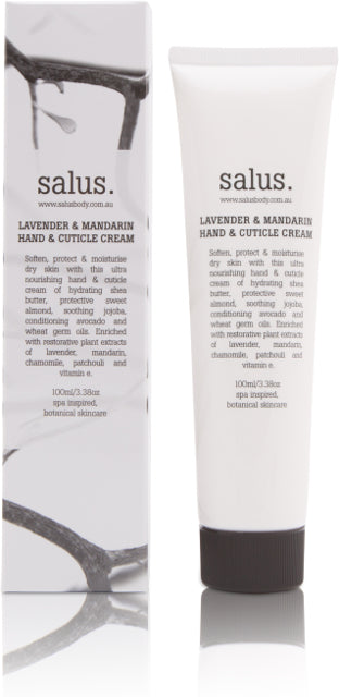 LAVENDER & MANDARIN  HAND & CUTICLE CREAM, Hand Cream, Salus - Mika and Max