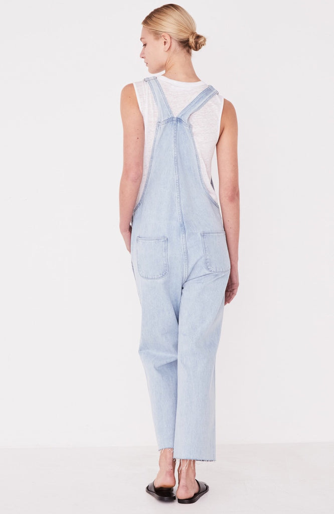 Wide Leg Overalls Pacific Blue