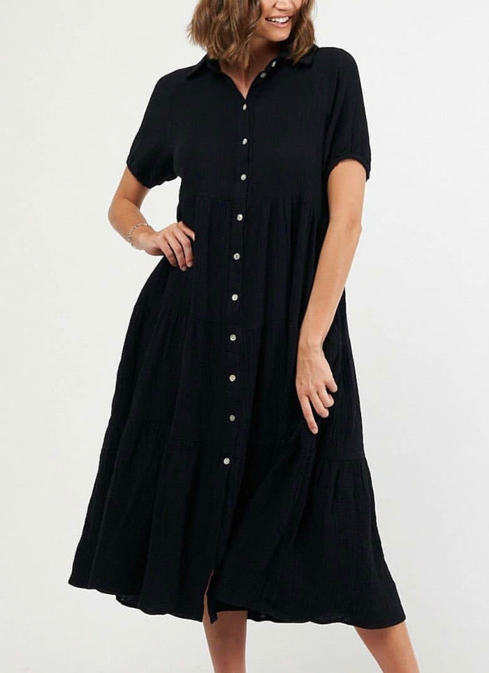 Willow Dress Black