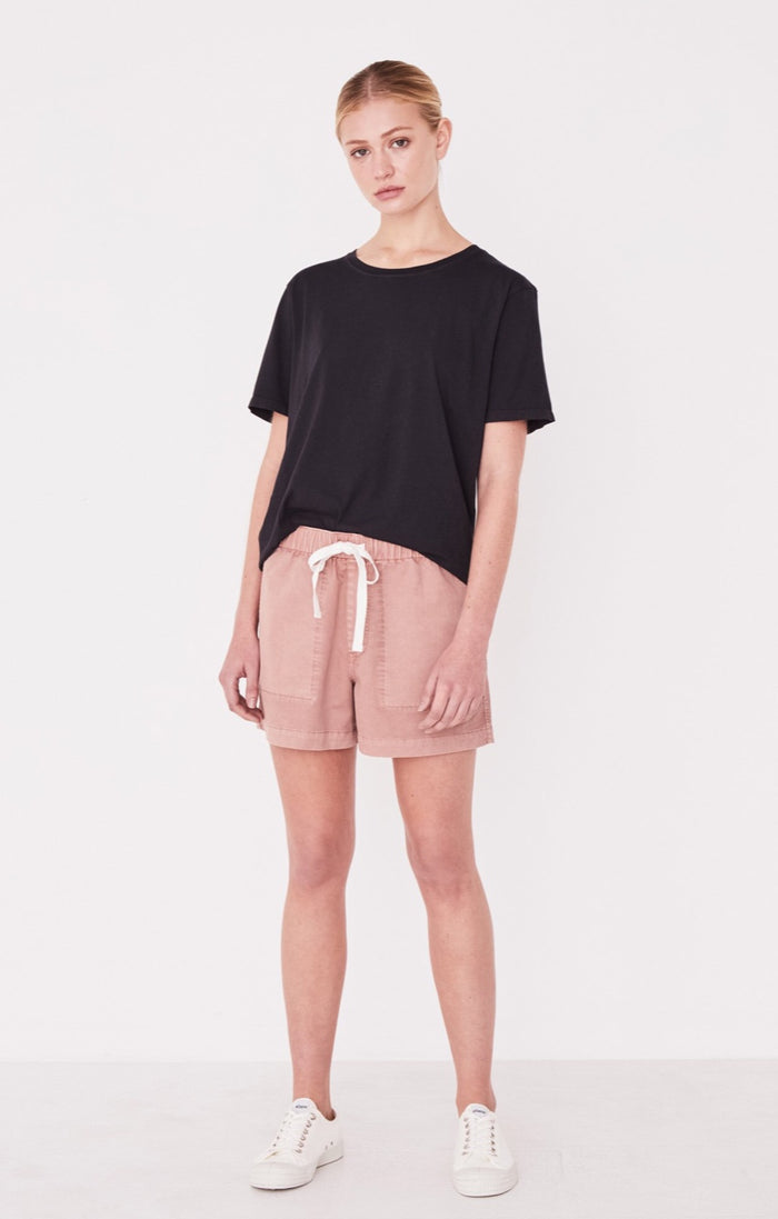 Coast Cotton Short Cameo Pink, Shorts, Assembly Label - Mika and Max
