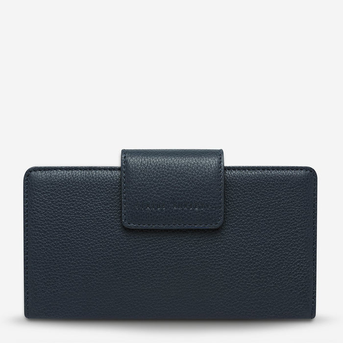 Ruins Wallet Navy Blue