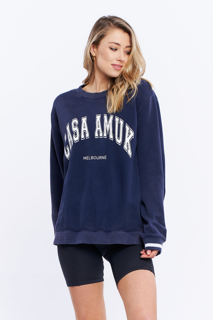VINTAGE JUMPER - Navy, casa Amuk, Mika and Max