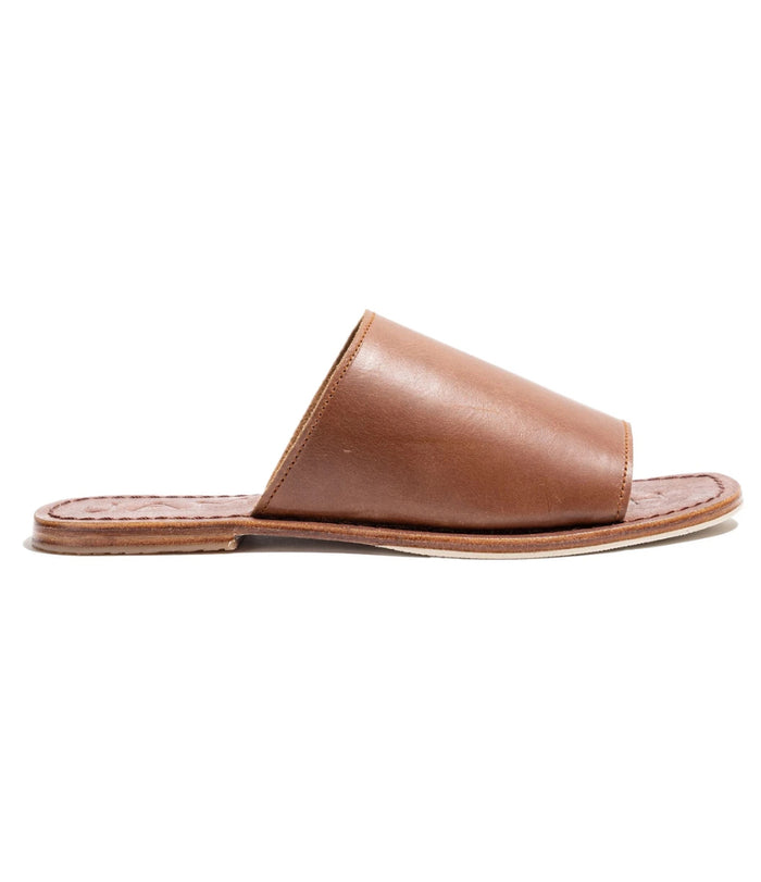 Off Duty Elevated Slide - Brown Vintage