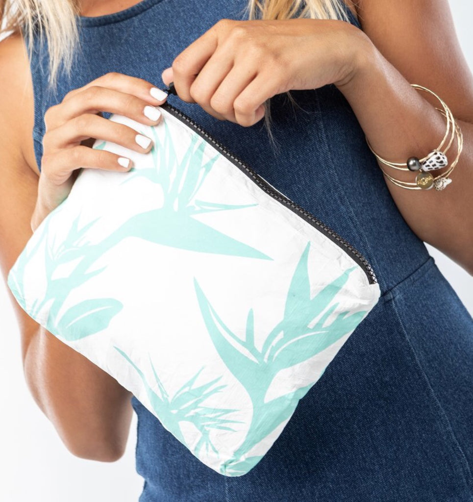 Small Birds Of Paradise Pouch, Bag, Le Mu - Mika and Max