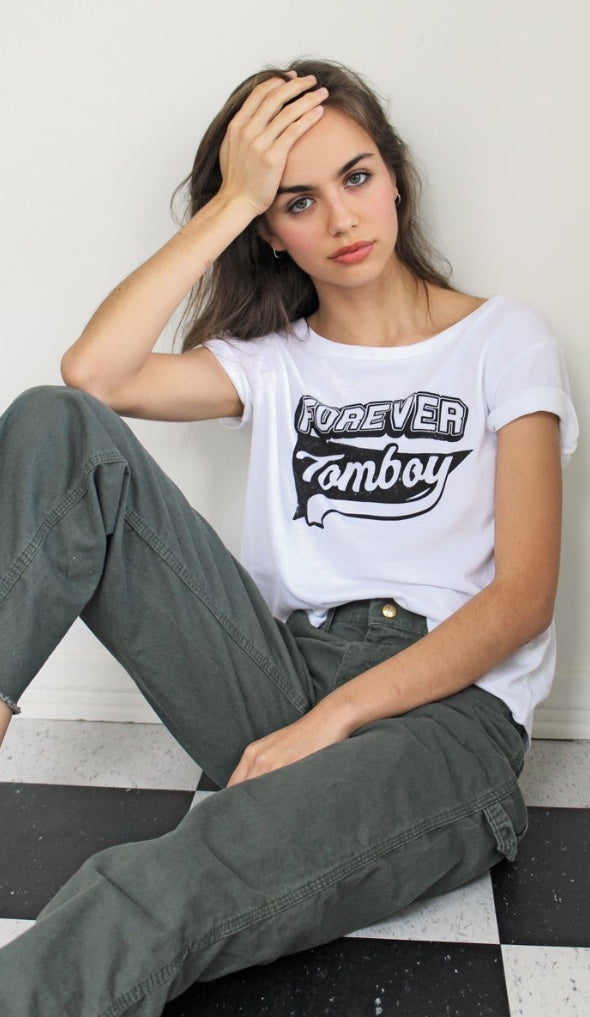 Forever Tomboy Tee, Tees, Not Another Label - Mika and Max