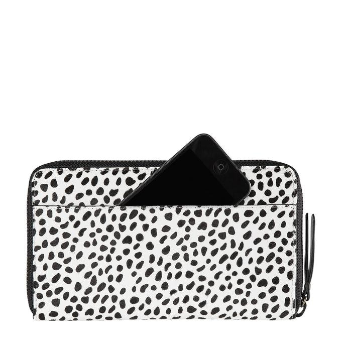 Delilah Wallet Snow Cheetah