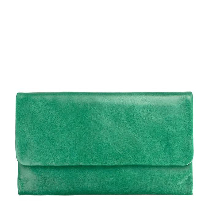 Audrey Wallet emerald, status anxiety
