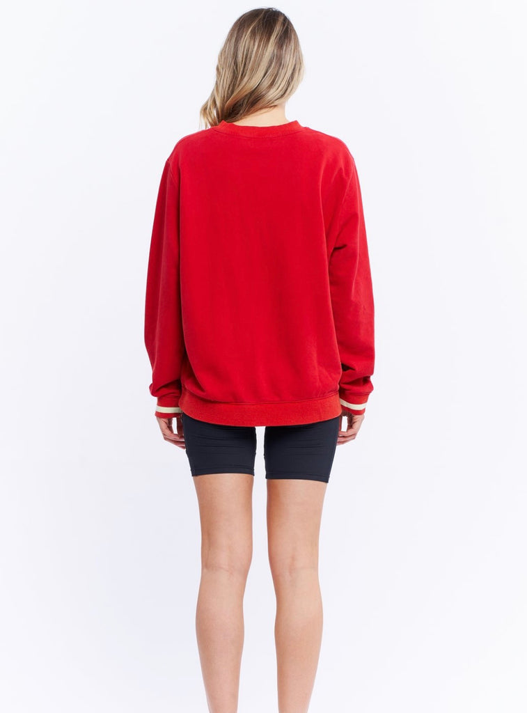 VINTAGE JUMPER - RED
